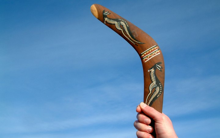 The Gospel Boomerang